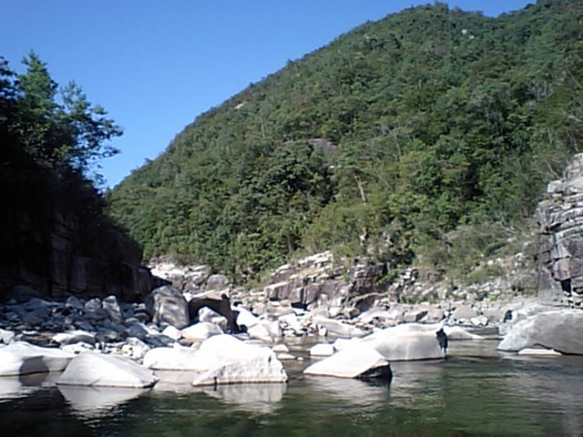 弥栄ダム小瀬川筋最上流
