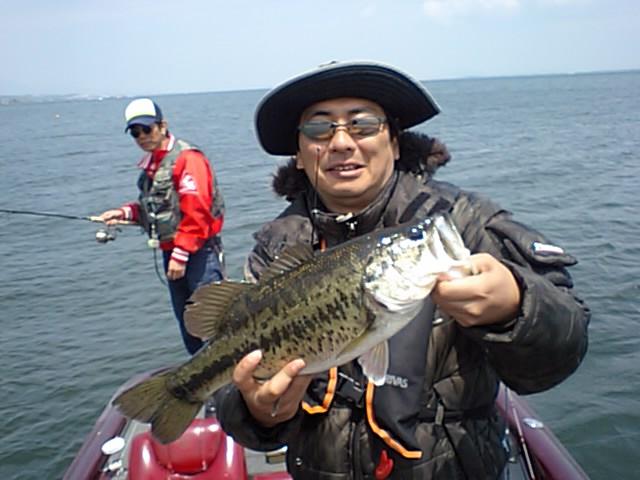 今日の琵琶湖