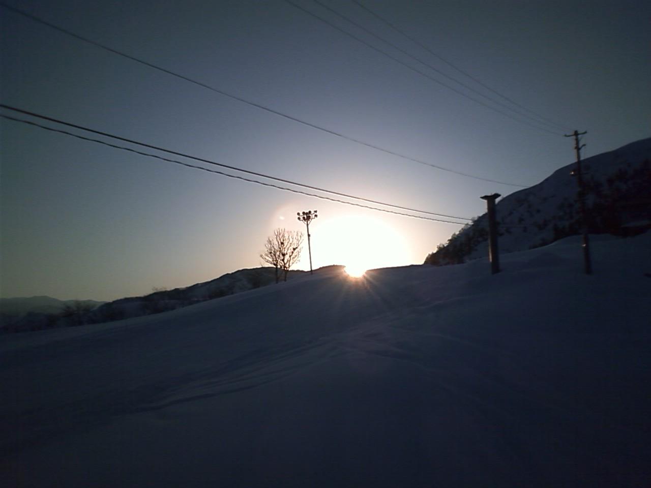 亀山→雪山