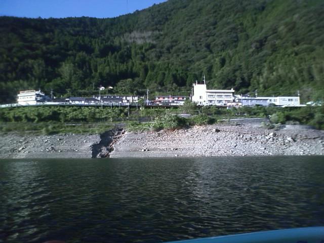 今日の早明浦ダム