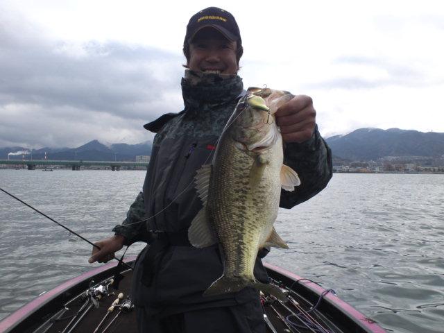 琵琶湖ガイド初日