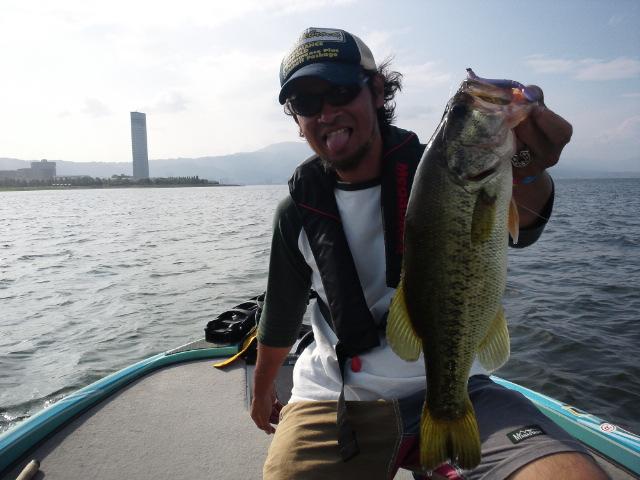琵琶湖激荒れ