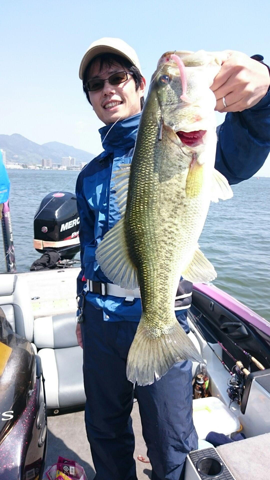 琵琶湖もやっぱりレッグワーム2.9