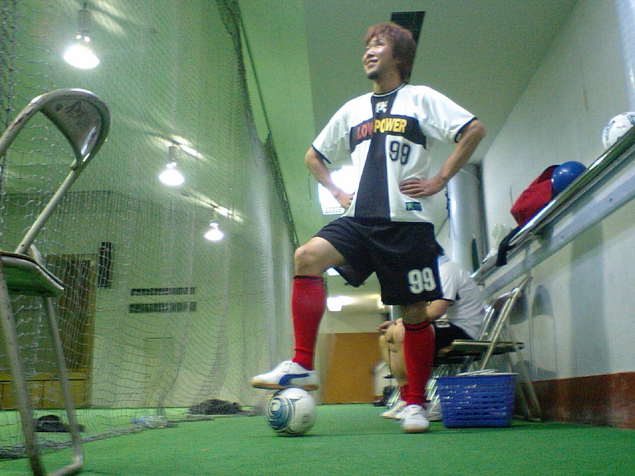サッカーだ〜