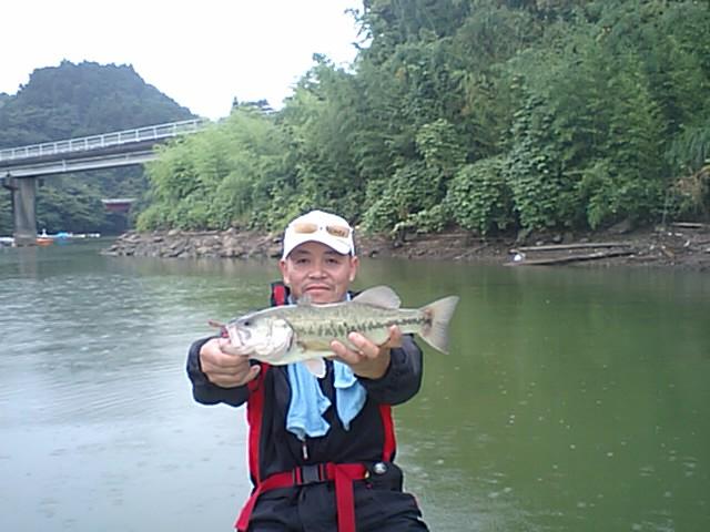 今日の亀山ダム